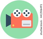 video camera vector icon | Shutterstock .eps vector #441506491
