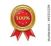 guaranteed badge | Shutterstock .eps vector #441511234