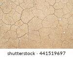 cracks in the ground | Shutterstock . vector #441519697
