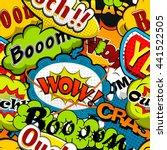 bright and multicolored comics...   Shutterstock .eps vector #441522505