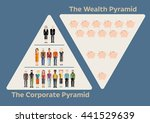 wealth according to power in... | Shutterstock .eps vector #441529639