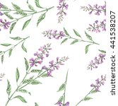 seamless floral pattern with... | Shutterstock . vector #441538207