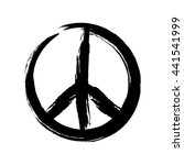 Sign Pacifist  Peace Symbol ...