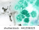 macro wash watercolor... | Shutterstock . vector #441558325