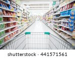 abstract blurred photo of store ... | Shutterstock . vector #441571561