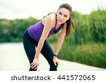 sport. recreation before or... | Shutterstock . vector #441572065