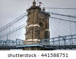 Roebling Suspension Bridge In...