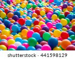 colorful plastic ball for kid... | Shutterstock . vector #441598129