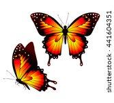 butterflies design | Shutterstock .eps vector #441604351