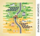 solar cell energy in flat design | Shutterstock .eps vector #441604531