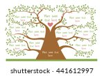 concept of geneologic tree with ...   Shutterstock .eps vector #441612997