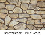 natural stone materials in... | Shutterstock . vector #441626905