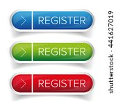 register button web vector | Shutterstock .eps vector #441627019