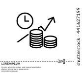 web line icon. business idea ... | Shutterstock .eps vector #441627199