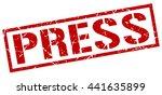 press stamp.stamp.sign.press. | Shutterstock .eps vector #441635899