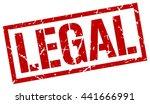 legal stamp.stamp.sign.legal. | Shutterstock .eps vector #441666991