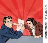 Conflict Between Businessman...