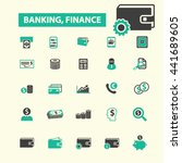 banking icons | Shutterstock .eps vector #441689605