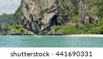 Southern Sea In Krabi Province...
