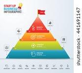 start up business concept... | Shutterstock .eps vector #441691147