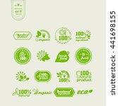 set of elements for design  ... | Shutterstock .eps vector #441698155