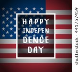 happy independence day... | Shutterstock .eps vector #441757459