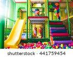 children's playground .... | Shutterstock . vector #441759454