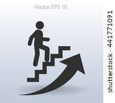 career ladder vector icon | Shutterstock .eps vector #441771091