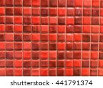 mix color mosaic tiles mix... | Shutterstock . vector #441791374