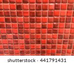mix color mosaic tiles mix... | Shutterstock . vector #441791431