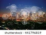 internet. | Shutterstock . vector #441796819
