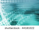 tech mechanical engineering... | Shutterstock . vector #44181022