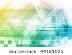 modern medical science... | Shutterstock . vector #44181025