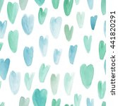 watercolor  seamless pattern.... | Shutterstock . vector #441820291