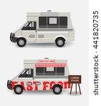 food truck blank | Shutterstock .eps vector #441820735