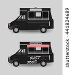 food truck blank | Shutterstock .eps vector #441824689