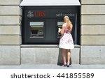 zurich  switzerland   august 29 ... | Shutterstock . vector #441855589