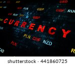 banking concept  pixelated red... | Shutterstock . vector #441860725