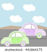 cars | Shutterstock .eps vector #441864175