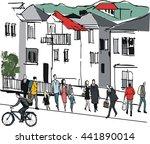 vector illustration of... | Shutterstock .eps vector #441890014