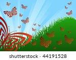 spring theme | Shutterstock .eps vector #44191528