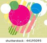 abstract grunge urban... | Shutterstock .eps vector #44195095