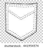 empty back pocket     Shutterstock .eps vector #441954574
