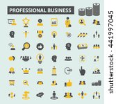 professional business icons | Shutterstock .eps vector #441997045