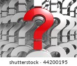 answer - question - stock photo