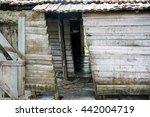 Miserable Shack  House. Worn...