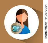 delicious coffee design    Shutterstock .eps vector #442072954