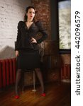 noir film style woman in a
