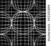 geometric pattern mesh ... | Shutterstock .eps vector #442101844
