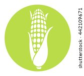corn icon. corncob. | Shutterstock .eps vector #442109671